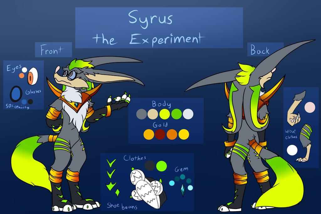 Syrus Model Sheet 2020