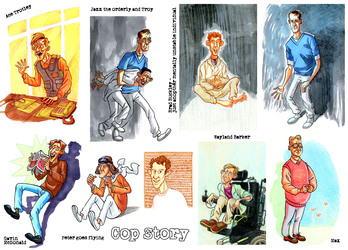 Cop Story Sketches 10