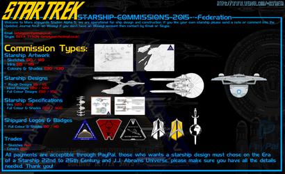 Starship Design - Price Sheet