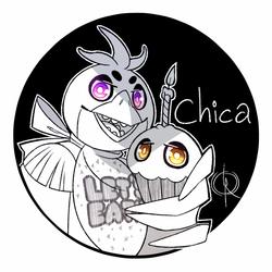 FNaF - Chica & Cupcake