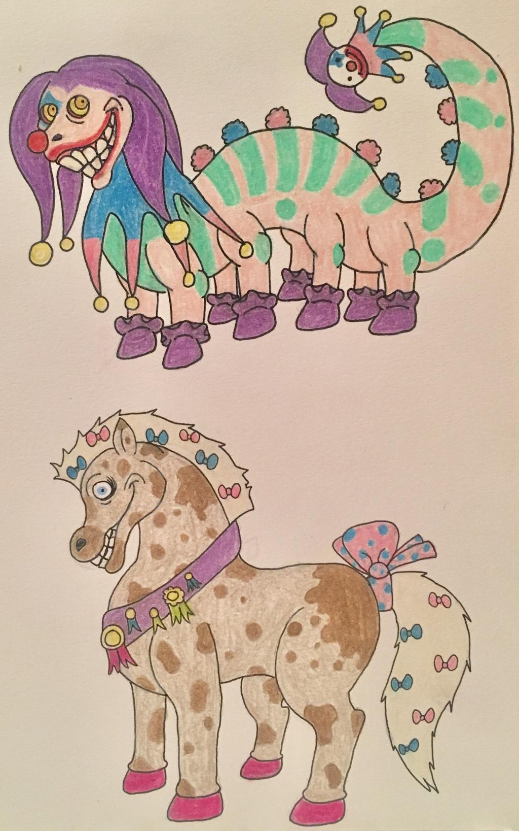 Stu and HORSE??? Adopts (1/2)