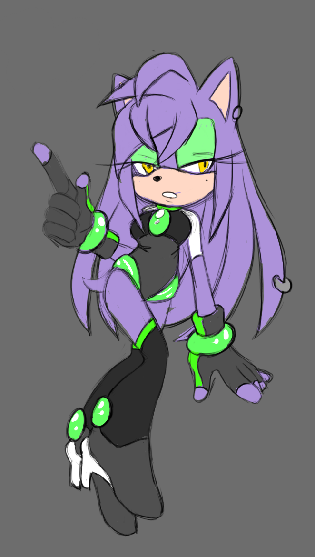 Lavender the Hedgehog