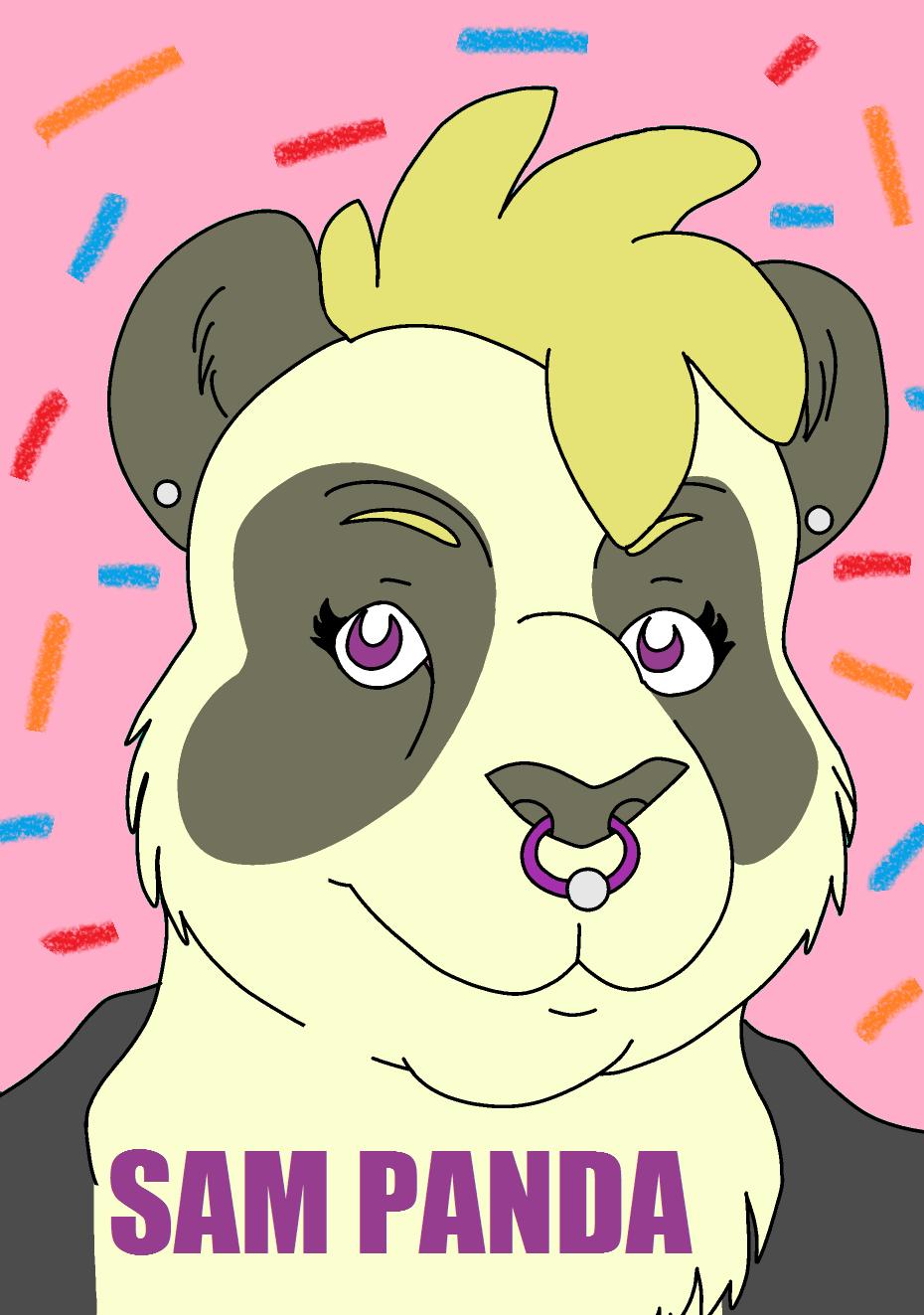Badge - Panda Sam