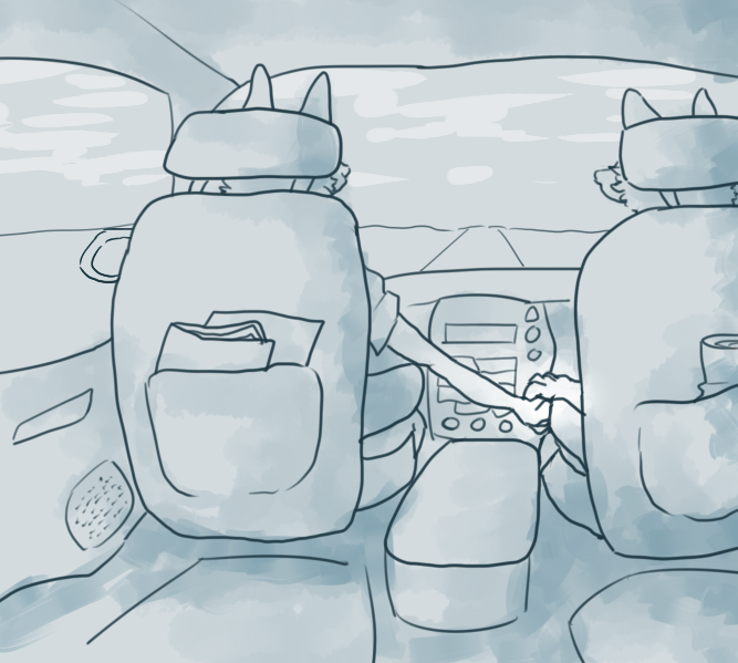 Most recent image: passenger seat