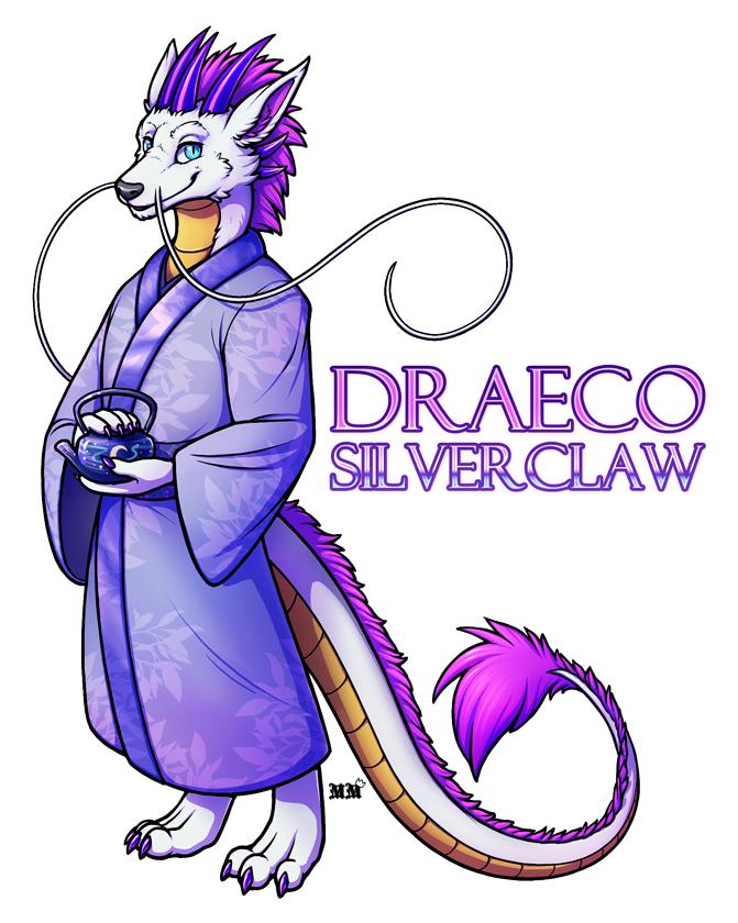 Draeco Silverclaw Full Body Badge
