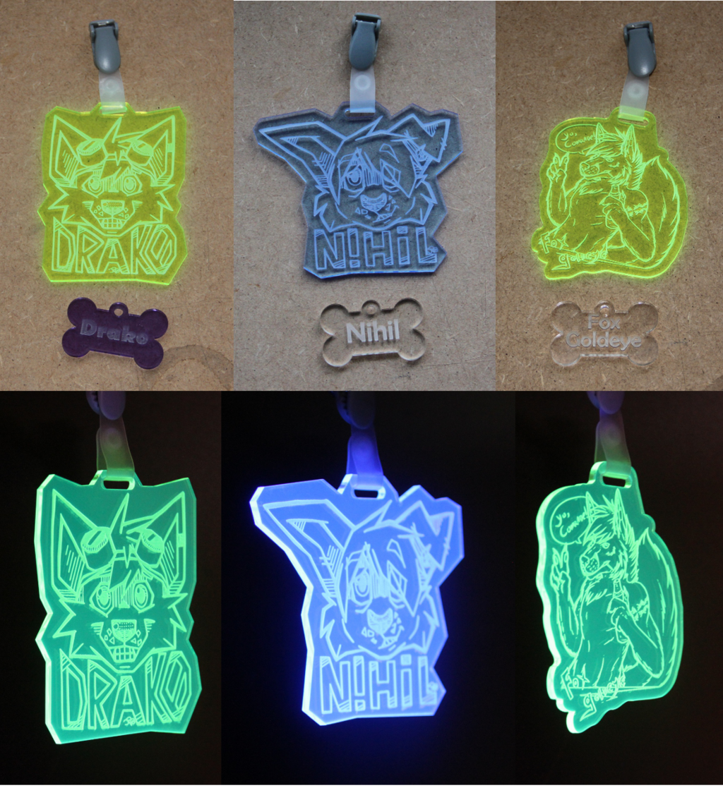 acrylic badges - Batch1
