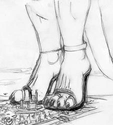 At The Empress' Feet