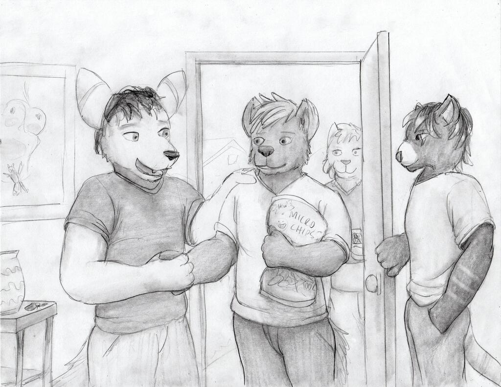 (Shrinking) House Party [1/3] [MACRO MARCH 2021]