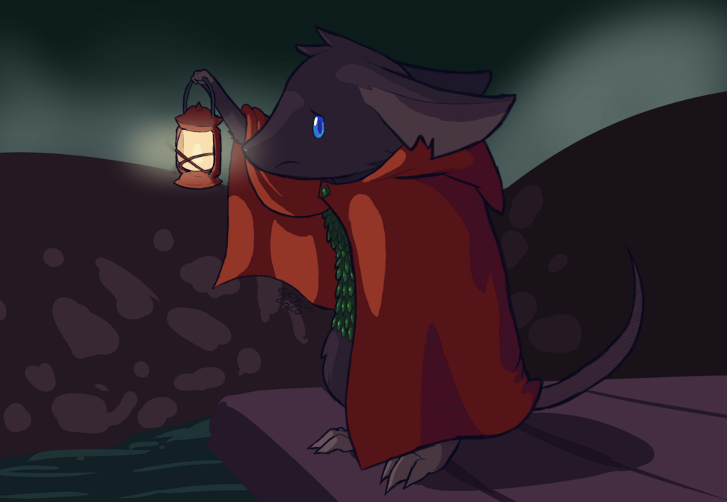 Most recent image: Lampy, The Lantern of Saltmire