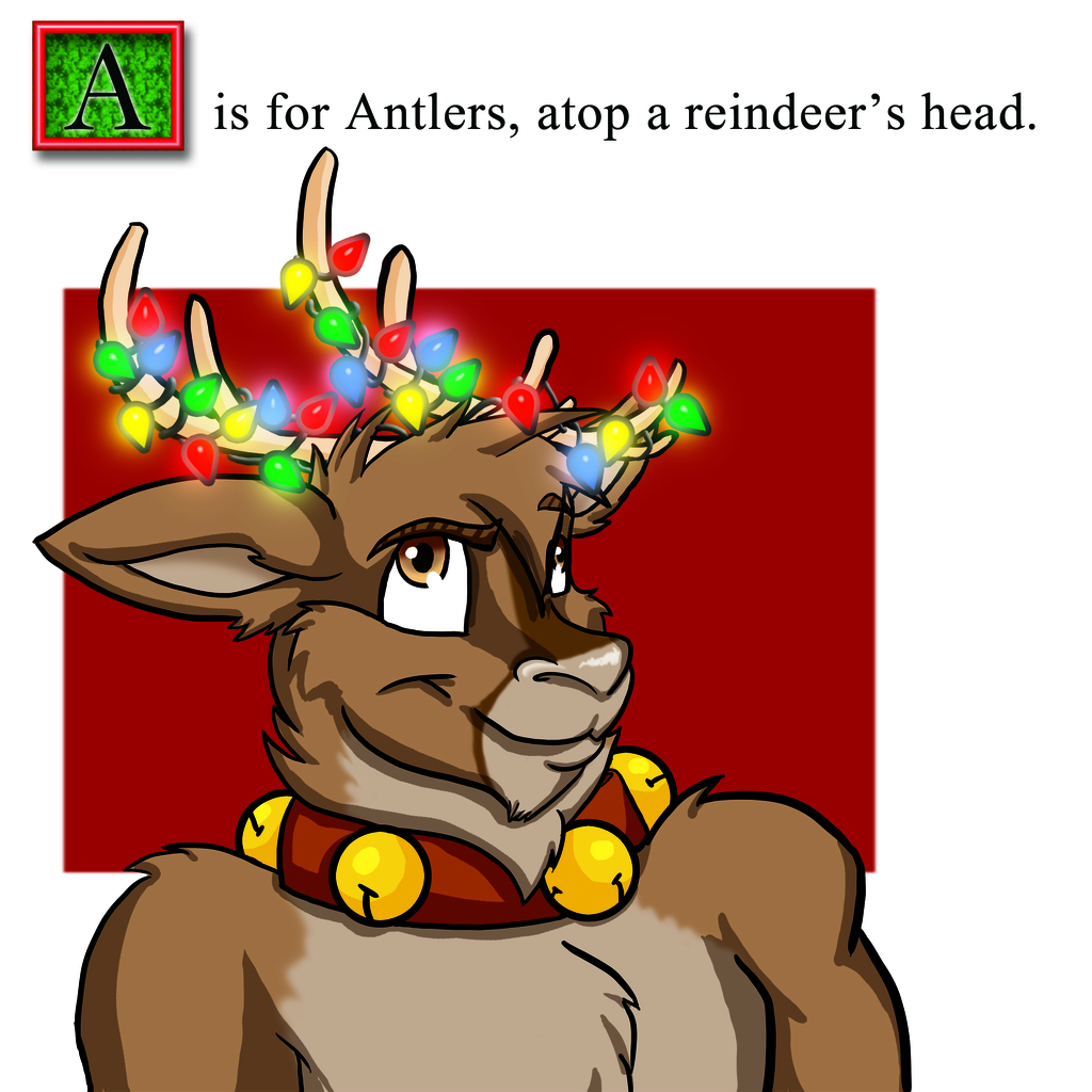 A is for Antlers...