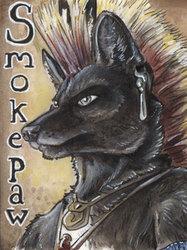 Smokepaw Badge
