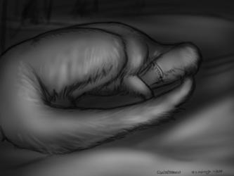 Dinovember - 8 - Cryolophosaurus