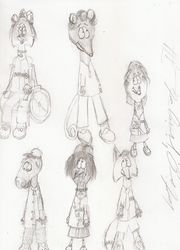 BuchylSketches: Northwesterners and Scouts