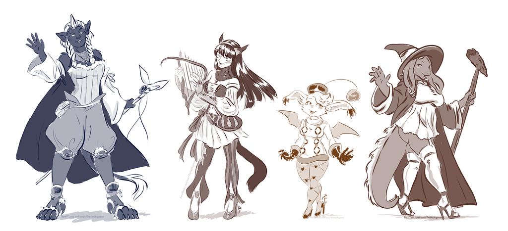 Final Fantasy gals for Kipper0308