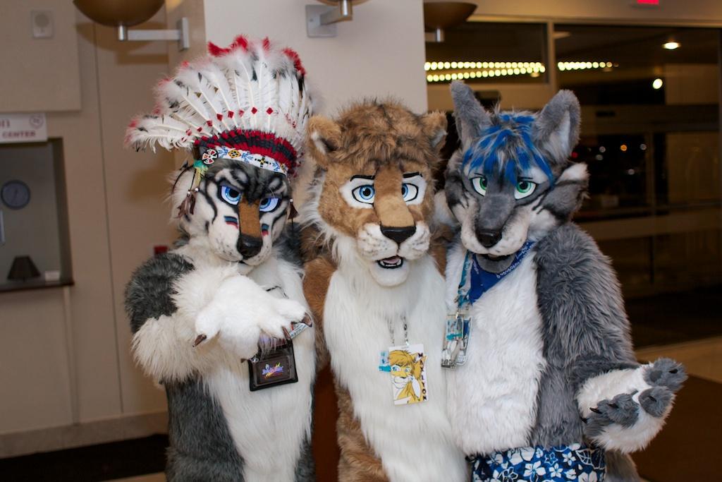 Dakota, Max, and Darcus