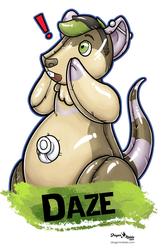 Daze Pooltoy Badge