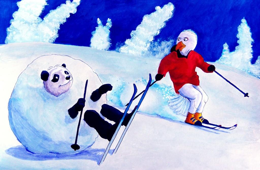 Not Very Good At Skiing