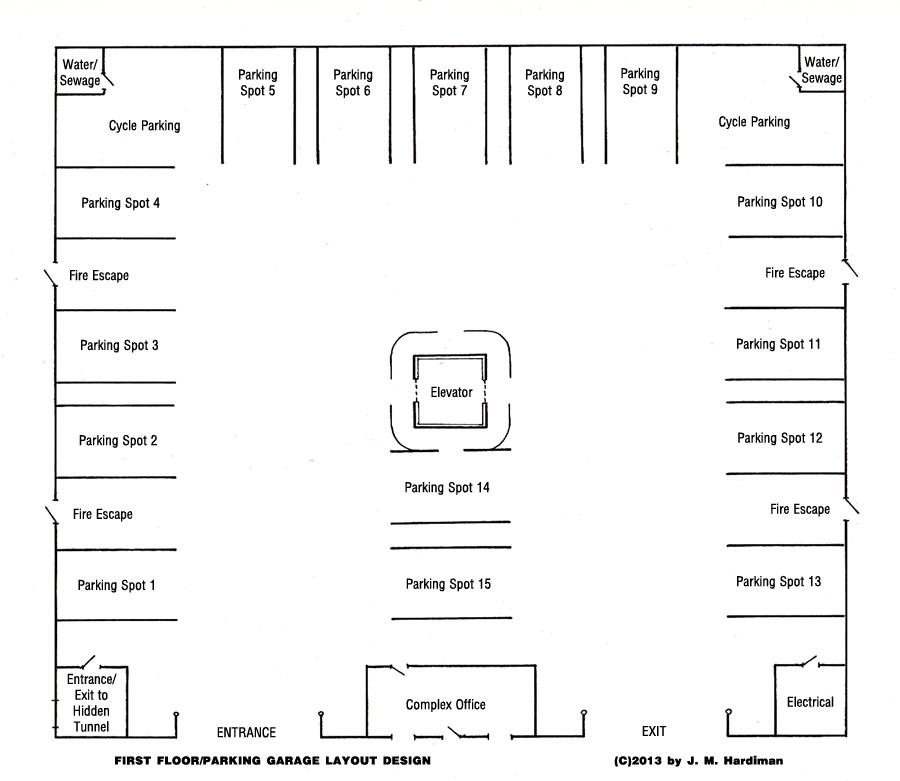 Caterwaul Apartment Complex Floor 1
