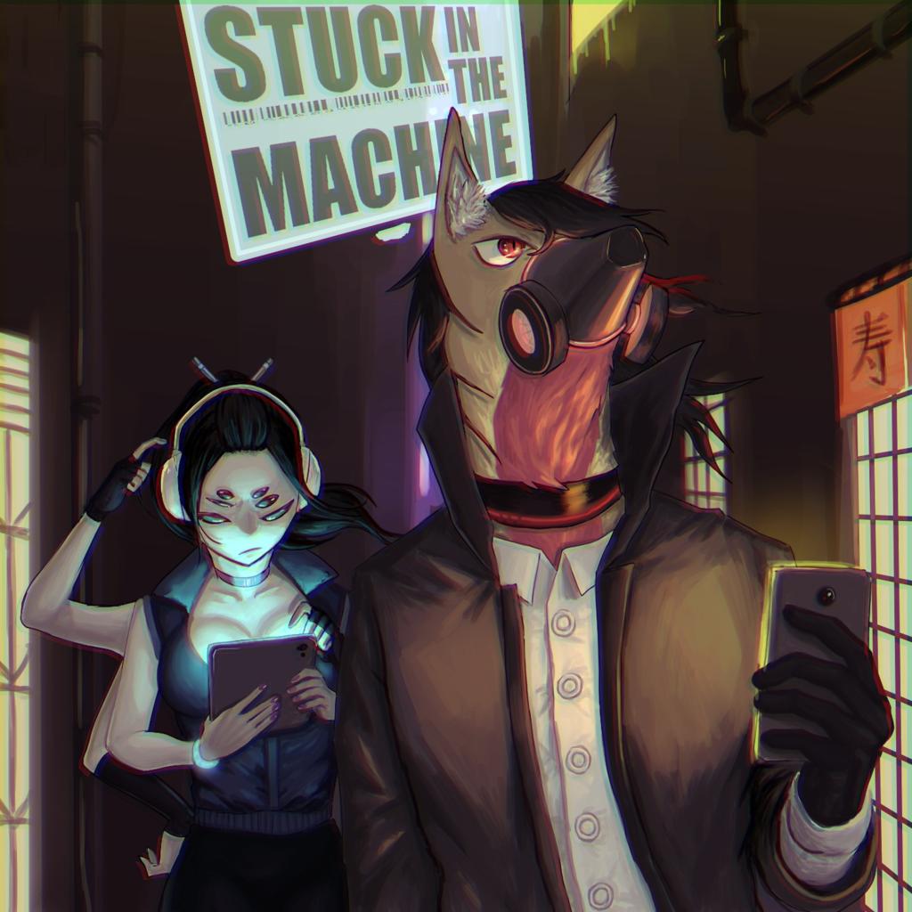 [NEW EP] SterbenFrau & Dexter Basson - Stuck In The Machine