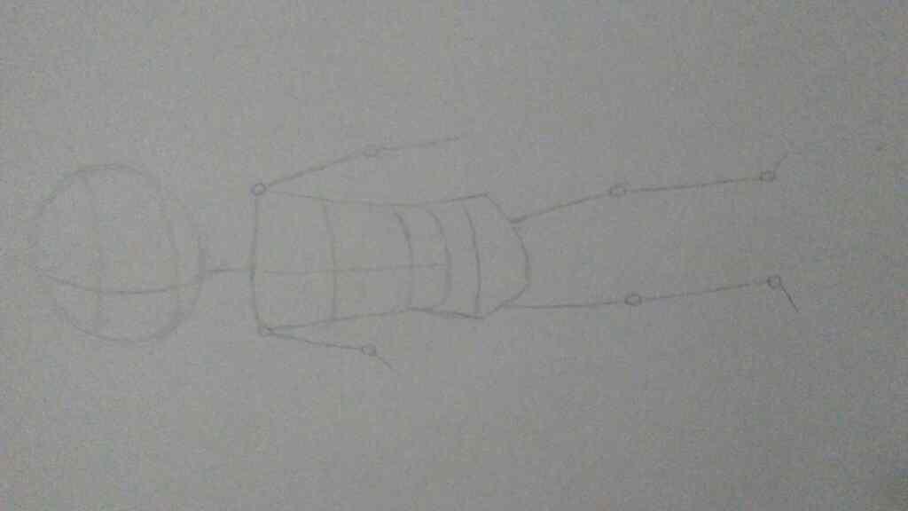 Skeleton guide sketch 1