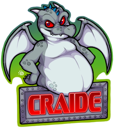 Craide - Badge Commission (Anthrocon)