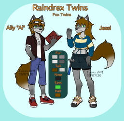 Comm - Raindrex twins ref