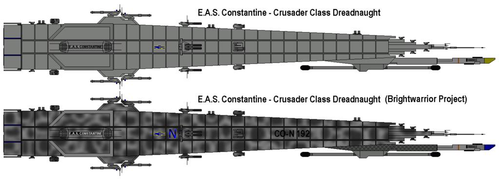 EAS Constantine - Crusader Class Dreadnaught
