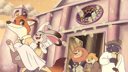 Zootopia - Just Married