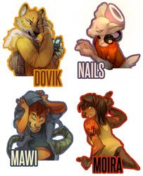 Digital Badge Samples : My Crew