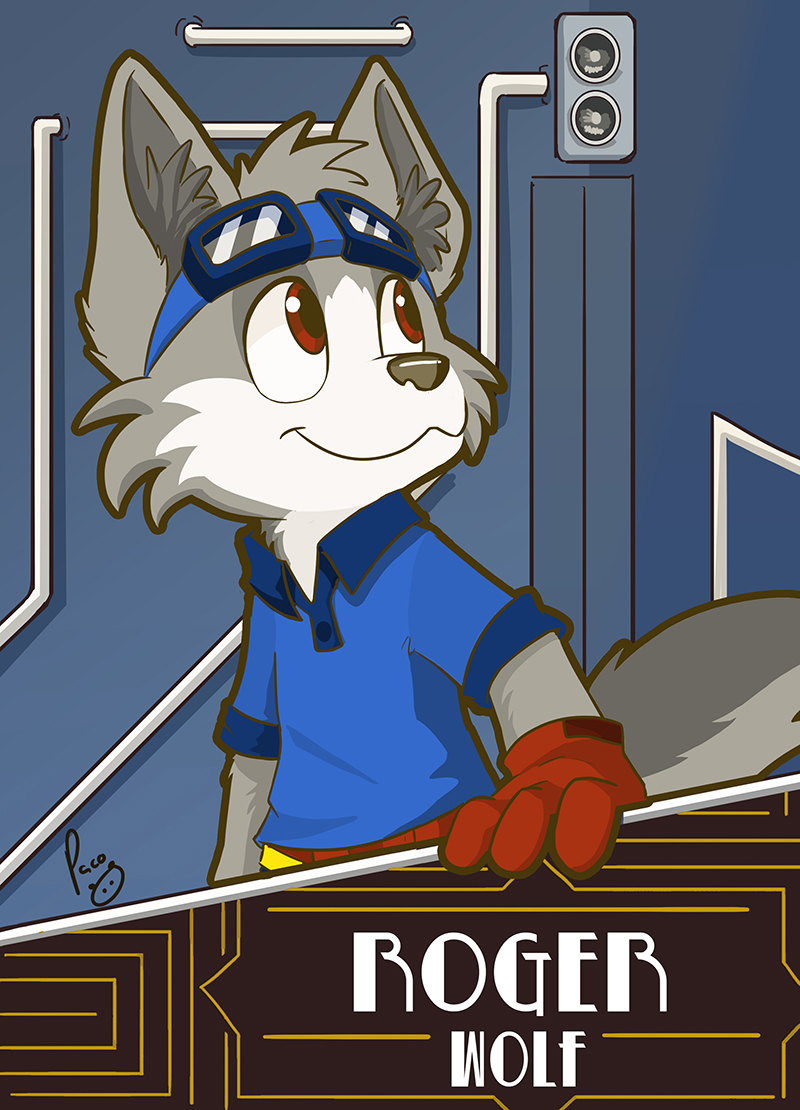 Roger Wolf Badge