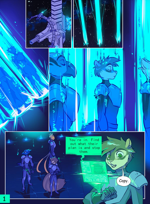 [COMMISSION] - Invasion pg. 1.