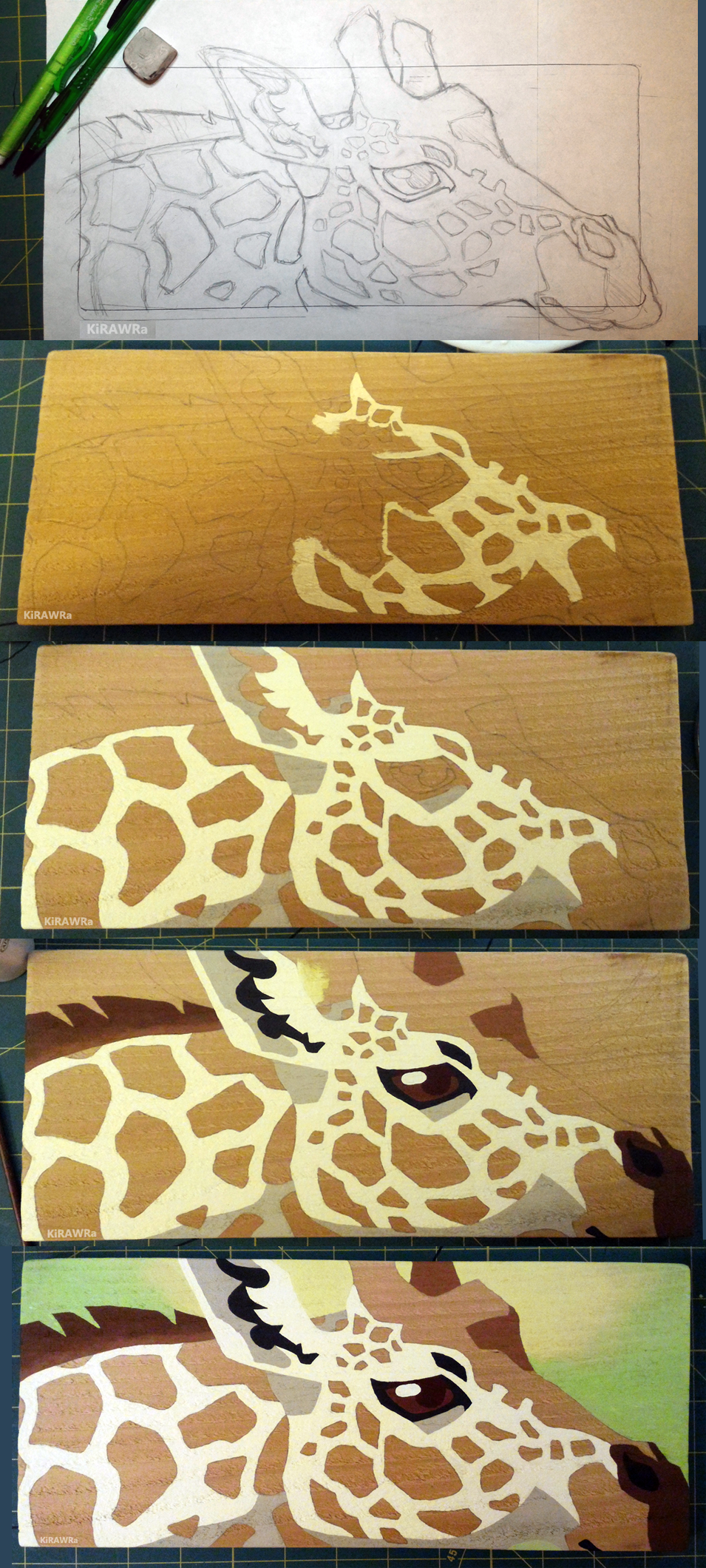 Making of Giraffe Spots