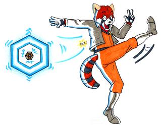 Star Panda Reflector Kick!