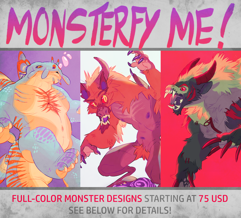 Monsterfy Me Commissions! [full]