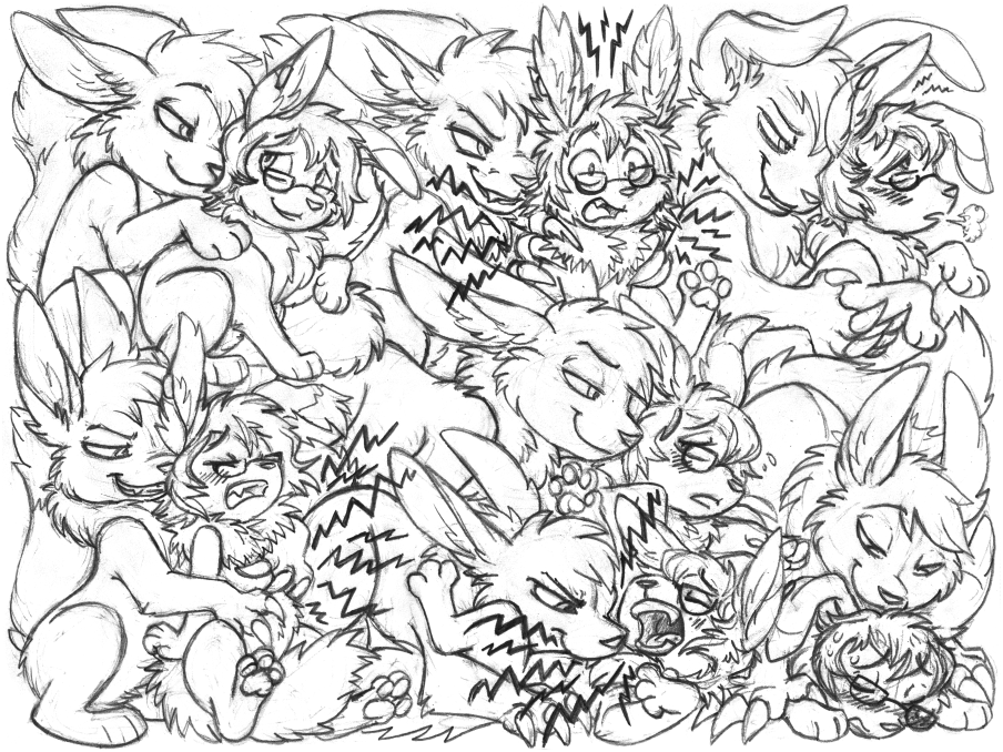 catldr24 sketchpage commission 2 (electrocution)