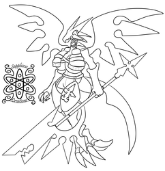 Female Nobody Dragoon +Commission WIP+
