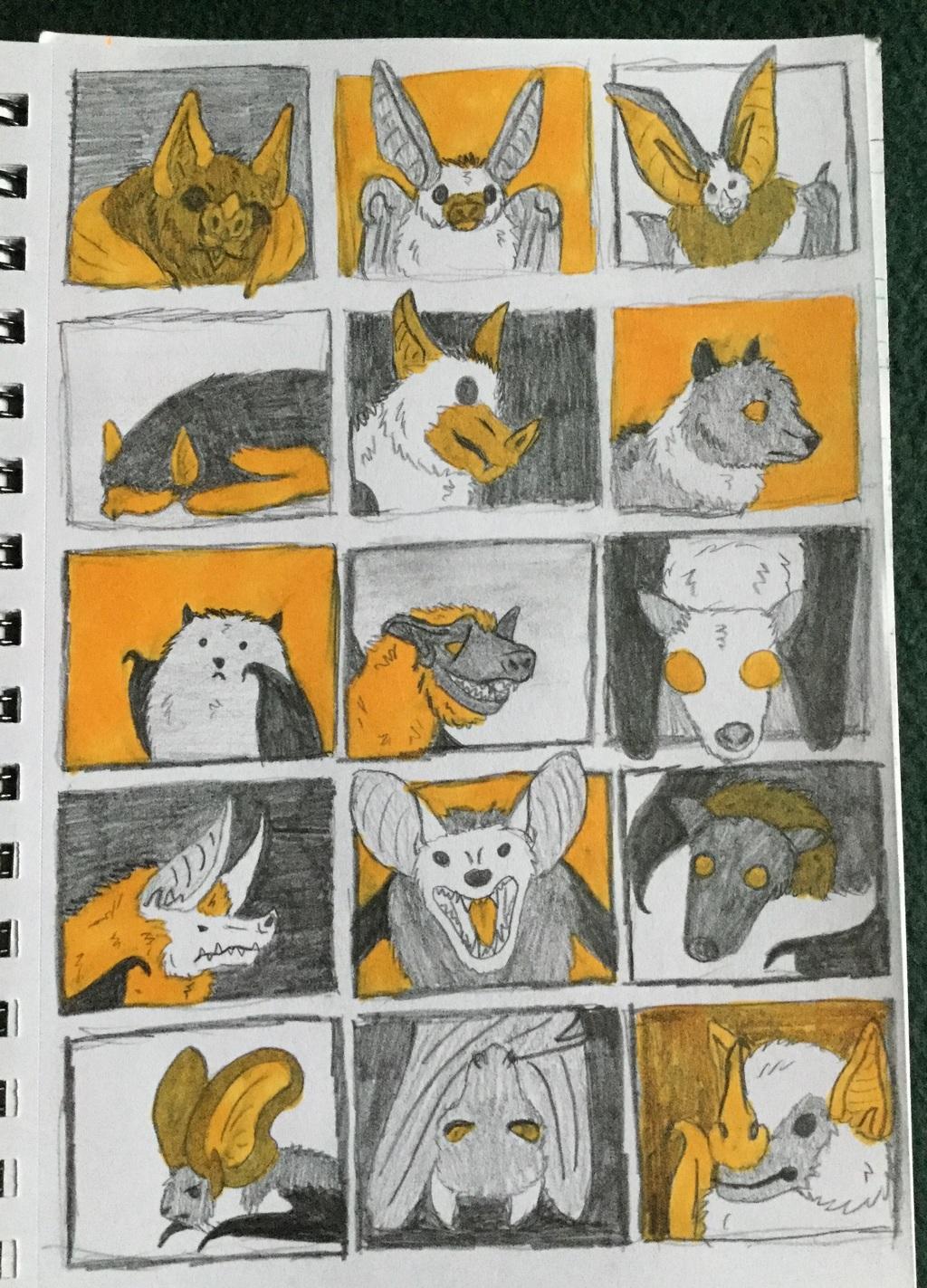 Bat Thumbnails