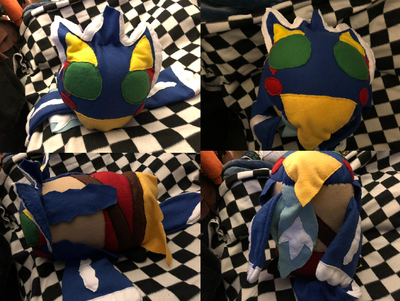 Breath of the Wild Revali Large Stacking Plush Commission