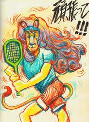 LOVELY!!! TENNIS PRINCE MEWMEW!!!