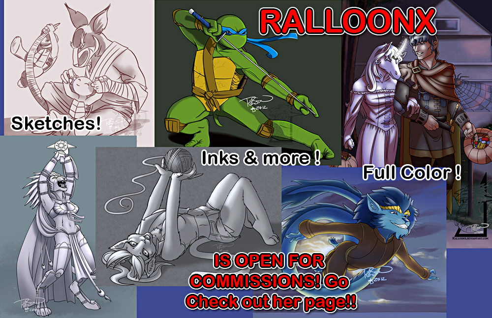Ralloonx is taking commissions now!