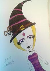 Sideways Witch