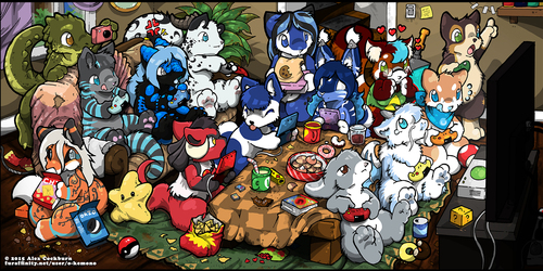 YCH Video Game Room Party