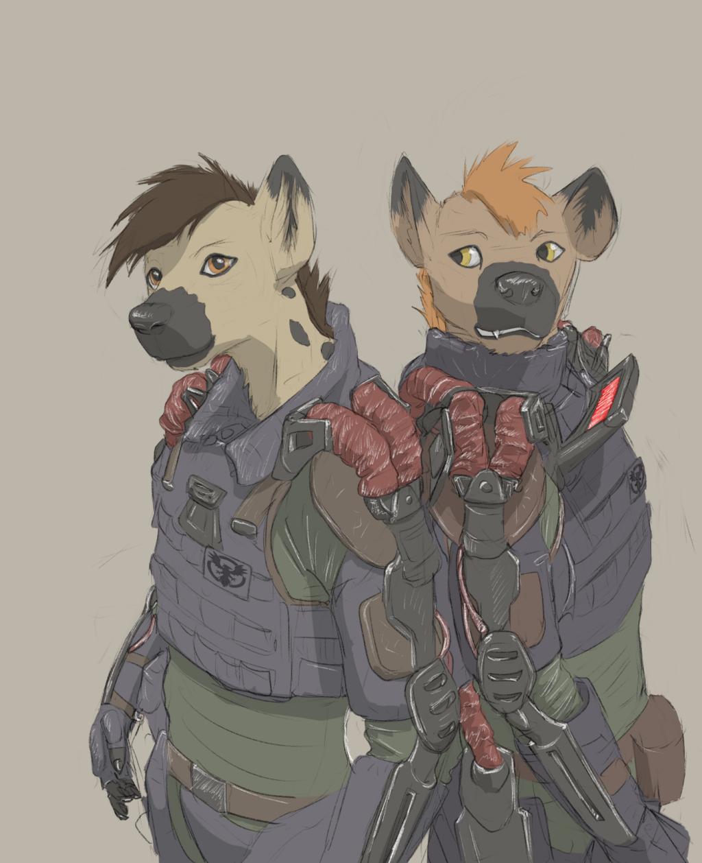 GNOLL BOYS (Commission)