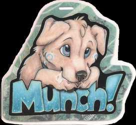 'Munch - AC Badge'
