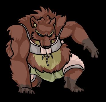 Werebear Battle Graphic (RMXP)