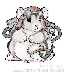 Steampunk Hamster - WTFur 2014