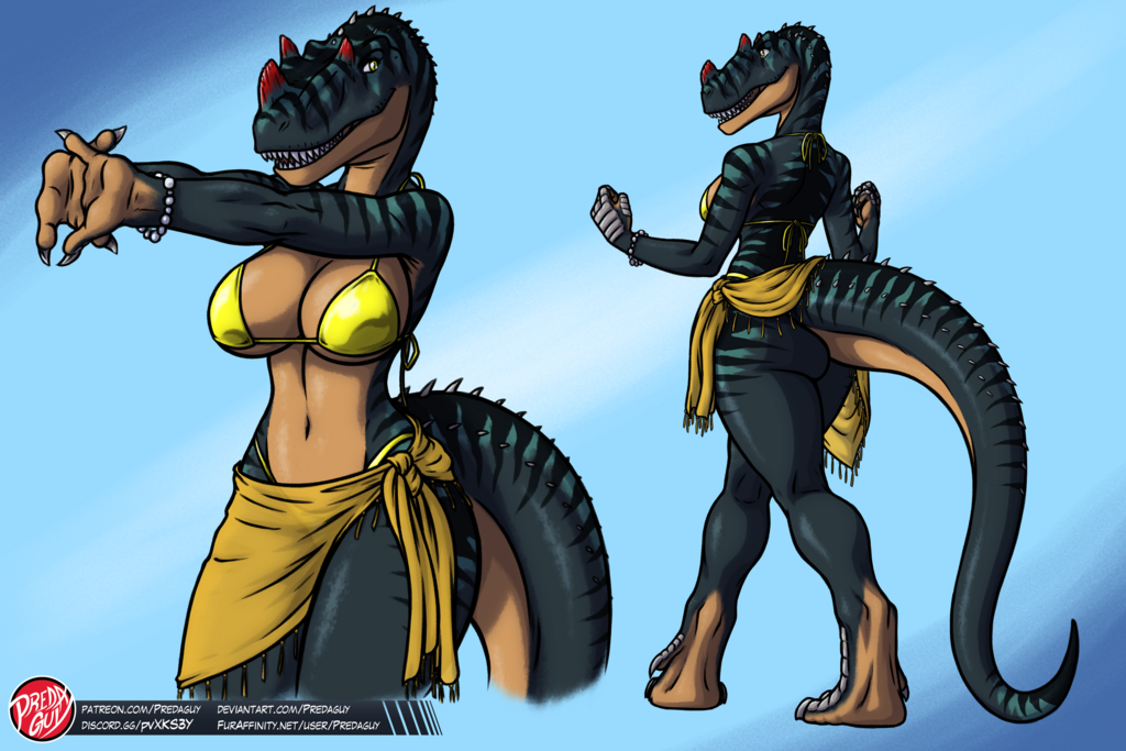 [ADOPTABLE] Ceratosaurus Girl