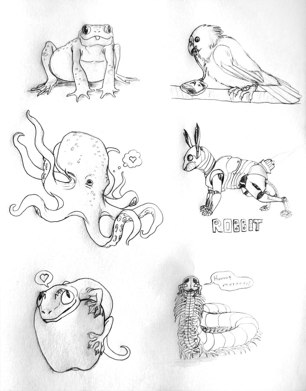 Sketches About 'Cute Things'