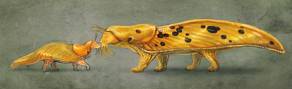 Most recent image: Sluguenda meets Bananacat