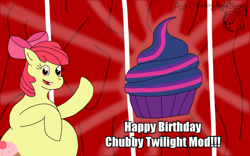 Chubby Twilight Mod's Birthday